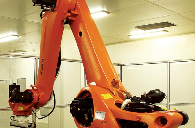 T120半自动机器人码垛机